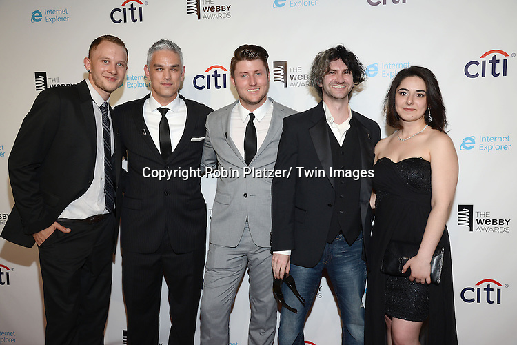 Digital Servents attends the 17th Annual Webby Awards on May 21, 2013 at Cipriani Wall Street in New York City.