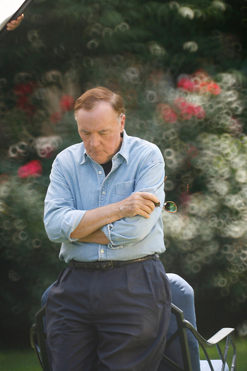 &copy;2013 David Burnett/ rep. by Cathy Saypol<br /> 703 626 1696<br /> Briarcliff Manor,  New York NY<br /> <br /> author James Patterson at home