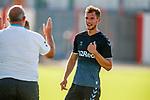 09.07.2019: St Joseph's v Rangers: Borna Barisic claiming the goal at full time