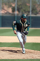 Henderson Alvarez - Oakland Athletics 2016 spring training (Bill Mitchell)