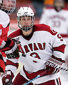 Danny Biega (Harvard - 9) is the youngest of the Biega brothers. - The St. Lawrence University Saints defeated the Harvard University Crimson 3-2 on Friday, November 20, 2009, at the Bright Hockey Center in Cambridge, Massachusetts.