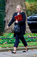LONDON, UNITED KINGDOM - NOVEMBER 06: Secretary of State for Northern Ireland Karen Bradley at a Cabinet meeting at 10 Downing Street in central London. November 06, 2018 in London, England. <br /> CAP/GOL<br /> &copy;GOL/Capital Pictures