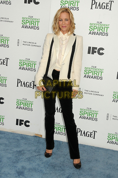 1 March 2014 - Santa Monica, California - Maria Bello. 2014 Film Independent Spirit Awards - Arrivals held at Santa Monica Beach. <br /> CAP/ADM/BP<br /> &copy;Byron Purvis/AdMedia/Capital Pictures