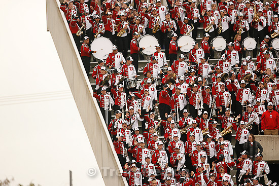 Trent Nelson  |  The Salt Lake Tribune.Utah marching band during the second quarter, Utah vs. Arizona State, college football at Rice-Eccles Stadium in Salt Lake City, Utah, Saturday, October 8, 2011.