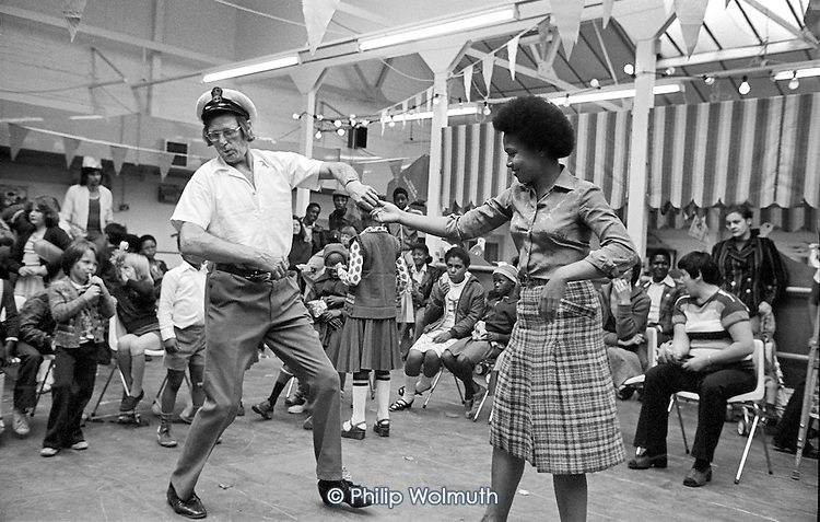 1978: Paddington-by-the-Sea community festival at the Factory, now the Yaa Asantewaa Centre.