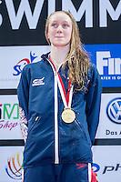RUDIN Rosie GBR<br /> 400 Medley Women Final Gold Medal and New Junior World Record<br /> Day01 25/08/2015 - OCBC Aquatic Center<br /> V FINA World Junior Swimming Championships<br /> Singapore SIN  Aug. 25-30 2015 <br /> Photo A.Masini/Deepbluemedia/Insidefoto