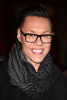 Gok Wan arriving for the I Can't Sing Press Night, at the Paladium, London. 26/03/2014 Picture by: Alexandra Glen / Featureflash