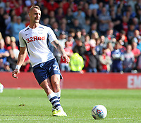 Preston North End's Patrick Bauer in action<br /> <br /> Photographer David Shipman/CameraSport<br /> <br /> The EFL Sky Bet Championship - Nottingham Forest v Preston North End - Saturday 31st August 2019 - The City Ground - Nottingham<br /> <br /> World Copyright © 2019 CameraSport. All rights reserved. 43 Linden Ave. Countesthorpe. Leicester. England. LE8 5PG - Tel: +44 (0) 116 277 4147 - admin@camerasport.com - www.camerasport.com