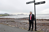 Mick O'Dwyer reflects on his distinguished career in his home town of Waterville in County Kerry on Thursday.<br /> Picture by Don MacMonagle