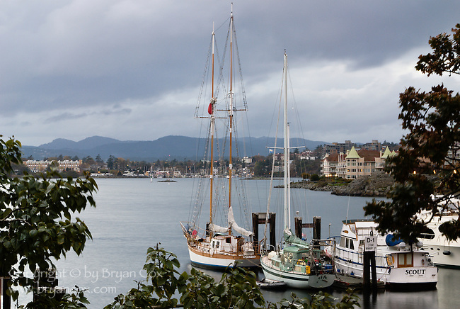 Victoria Harbor, Vancouver Island, BC