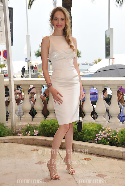 "Laura Weissbecker at photocall to promote her new movie ""Chinese Zodiac"" at the 65th Festival de Cannes..May 18, 2012  Cannes, France.Picture: Paul Smith / Featureflash"