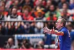 18.01.2020., Austria, Vienna, Wiener Stadthalle - European Handball Championship, Group I, Round 2, Croatia - Germany. Croatian coach Lino Cervar. <br /> <br /> Foto © nordphoto / Luka Stanzl/PIXSELL