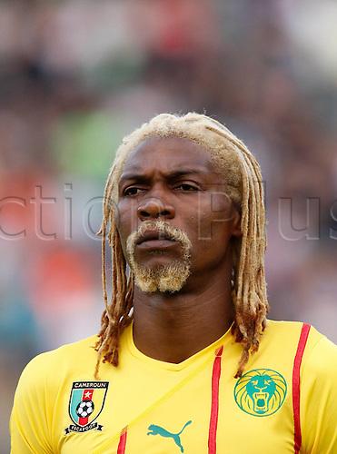 25.05.2010. LIENZ,AUSTRIA. Cameroon versus Georgia. Rigobert Song (CMR).