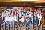 James Brosnan Tullig, Castleisland seated centre who celebrated his 40th birthday with his wife Sharon, his sons Jamie and Eoin, his parents Mary and Francie and his family and friends in the River Island Hotel Castleisland on Friday night....