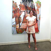 SANTA MONICA - JUN 25: Bambi Northwood Blyth at the David Bromley LA Women Art Exhibition opening reception at the Andrew Weiss Gallery on June 25, 2016 in Santa Monica, California