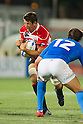 Luke Thompson (JPN), AUGUST 13, 2011, Rugby : International test match between Italy 31-24 Japan at Dino Manuzzi Stadium, Cesena, Italy, (Photo by Enrico Calderoni/AFLO SPORT) [0391]