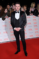 Danny Miller<br /> arriving for the National Television Awards 2018 at the O2 Arena, Greenwich, London<br /> <br /> <br /> ©Ash Knotek  D3371  23/01/2018
