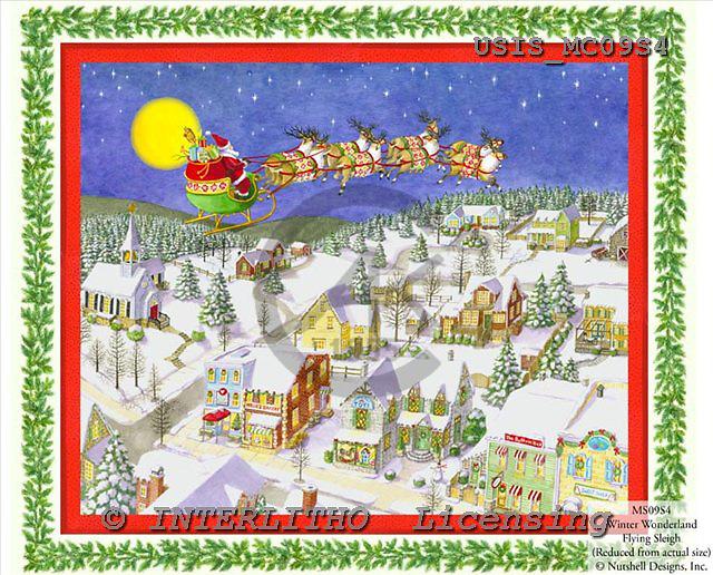 Ingrid, CHRISTMAS SANTA, SNOWMAN, WEIHNACHTSMÄNNER, SCHNEEMÄNNER, PAPÁ NOEL, MUÑECOS DE NIEVE, paintings+++++,USISMC09S4,#X# vintage