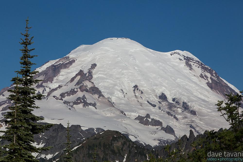 The snows of Mt. Rainier.