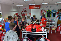 Club shop during Stevenage vs Tranmere Rovers, Sky Bet EFL League 2 Football at the Lamex Stadium on 4th August 2018