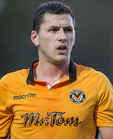 Aaron Williams of Newport County during the Sky Bet League 2 match between Wycombe Wanderers and Newport County at Adams Park, High Wycombe, England on 2 January 2017. Photo by Kevin Prescod.