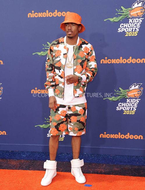WWW.ACEPIXS.COM<br /> <br /> July 16 2015, LA<br /> <br /> Nick Cannon arriving at the Nickelodeon Kids' Choice Sports Awards 2015 at UCLA's Pauley Pavilion on July 16, 2015 in Westwood, California.<br /> <br /> By Line: Peter West/ACE Pictures<br /> <br /> <br /> ACE Pictures, Inc.<br /> tel: 646 769 0430<br /> Email: info@acepixs.com<br /> www.acepixs.com