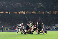 Twickenham, Surrey. England.      during the Killik Cup, Barbarians vs New Zealand. Twickenham. UK<br /> <br /> Saturday  04.11.17<br /> <br /> [Mandatory Credit Peter SPURRIER/Intersport Images]