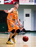S&ouml;dert&auml;lje 2014-10-01 Basket Basketligan S&ouml;dert&auml;lje Kings - Norrk&ouml;ping Dolphins :  <br /> Norrk&ouml;ping Dolphins Toni Prostran i aktion <br /> (Foto: Kenta J&ouml;nsson) Nyckelord:  S&ouml;dert&auml;lje Kings SBBK T&auml;ljehallen Norrk&ouml;ping Dolphins portr&auml;tt portrait