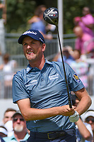 Webb Simpson (USA) watches his tee shot on 9 during Rd4 of the 2019 BMW Championship, Medinah Golf Club, Chicago, Illinois, USA. 8/18/2019.<br /> Picture Ken Murray / Golffile.ie<br /> <br /> All photo usage must carry mandatory copyright credit (© Golffile | Ken Murray)