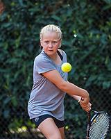 Hilversum, Netherlands, August 7, 2017, National Junior Championships, NJK, Britt du Pree<br /> Photo: Tennisimages/Henk Koster