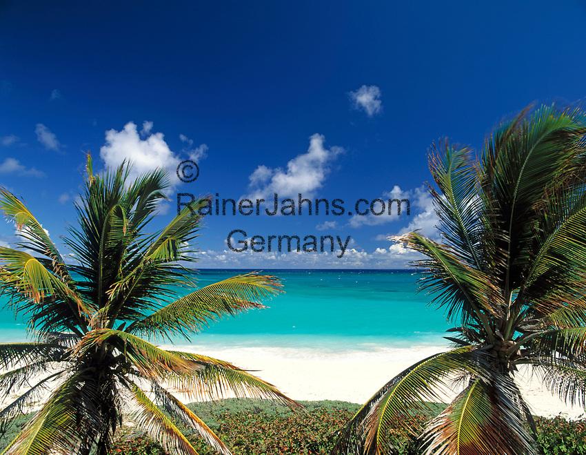 BRB, Barbados, Long Beach: Strand an der Suedkueste   BRB, Barbados, Long Beach: at the south coast