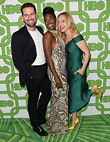 06 January 2019 - Beverly Hills , California - Rightor Doyle, Kirby Howell-Baptiste, Sarah Goldberg. 2019 HBO Golden Globe Awards After Party held at Circa 55 Restaurant in the Beverly Hilton Hotel. <br /> CAP/ADM/BT<br /> ©BT/ADM/Capital Pictures