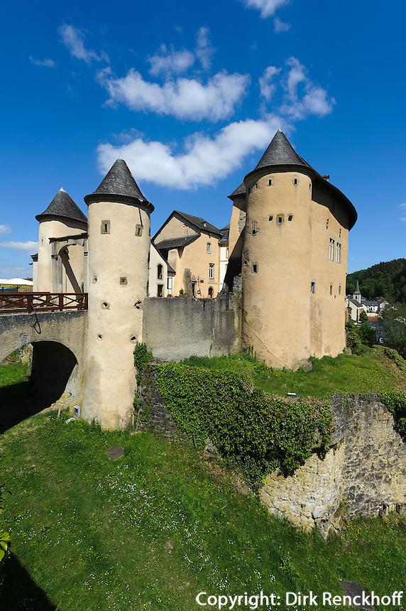 Burg von in Bourglinster, Luxemburg