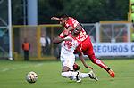 Fortaleza igualó como local 1-1 ante Independiente Santa Fe. Fecha 18 Liga Águila II-2016.