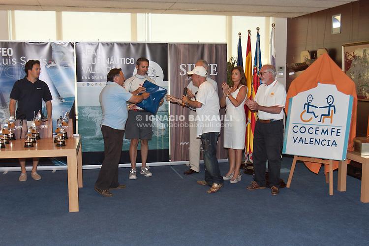 I Trofeo Luis Senís - Facialdentis. Real Club Náutico de Valencia