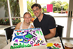One Life To Live Tom Degnan (As the World Turns) at the Painting Party on May 15, 2011 on Marco Island, Florida - SWSL Soapfest Charity Weekend May 14 & !5, 2011 benefitting several children's charities including the Eimerman Center providing educational & outreach services for children for autism. see www.autismspeaks.org. (Photo by Sue Coflin/Max Photos)