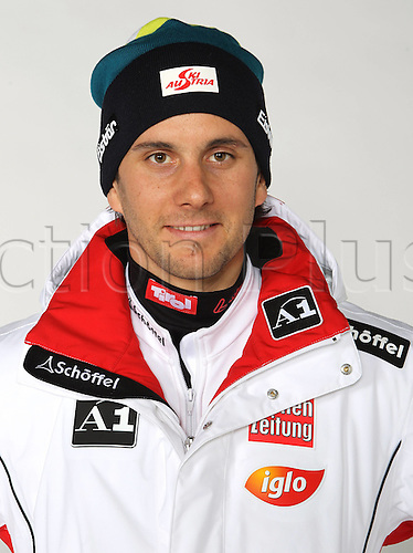 16.10.2010 Ski Alpine OSV Austria team portraits. Picture shows Philipp.