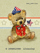 GIORDANO, CUTE ANIMALS, LUSTIGE TIERE, ANIMALITOS DIVERTIDOS, Teddies, paintings+++++,USGI1040FLAT,#AC# teddy bears