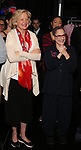 Christine Ebersole and Patti Lupone during the Actors' Equity Gypsy Robe honoring Joanna Glushak for 'War Paint' at the Nederlander Theatre on April 6, 2017 in New York City