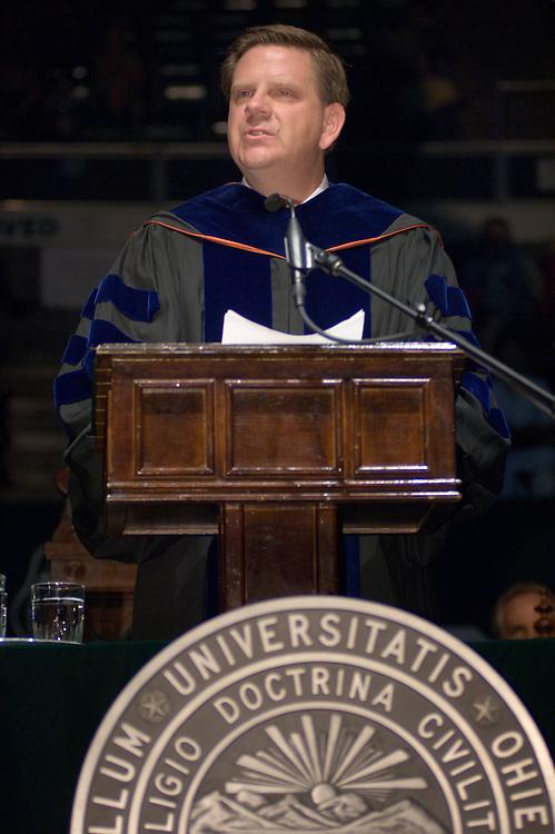 Daniel Modaff, associate professor in the School of Communication Studies of the College of Communication