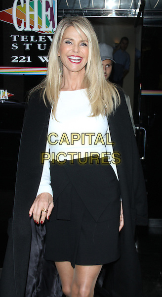 NEW YORK, NY - NOVEMBER 11: Christie Brinkley at The Wendy Williams Show promoting her new book Timeless Beauty on November 11, 2015 in New York City. <br /> CAP/MPI/RW<br /> &copy;RW/MPI/Capital Pictures