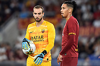 Alejandro Papu Gomez of Atalanta BC , Chris Smalling of AS Roma <br /> Roma 25-9-2019 Stadio Olimpico <br /> Football Serie A 2019/2020 <br /> AS Roma - Atalanta Bergamasca Calcio <br /> Foto Andrea Staccioli / Insidefoto