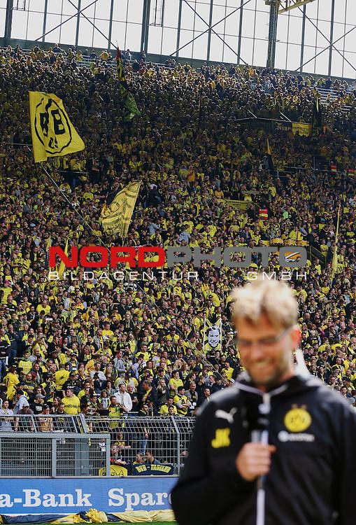 09.05.2015, Signal Iduna Park, Dortmund, GER, im Bild Bild J&uuml;rgen Klopp (Trainer Borussia Dortmund)<br /> <br /> Foto &copy; nordphoto / Rauch
