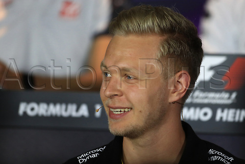 01.09.2016. Monza, Italy. Formula 1 Grand prix of Italy, driver arrival and press conference day.  Renault Sport F1 Team - Kevin Magnussen