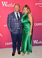 LOS ANGELES, CA. February 19, 2019: Michael Chiklis & Michael Chiklis & Michelle Moran  at the 2019 Costume Designers Guild Awards at the Beverly Hilton Hotel.<br /> Picture: Paul Smith/Featureflash