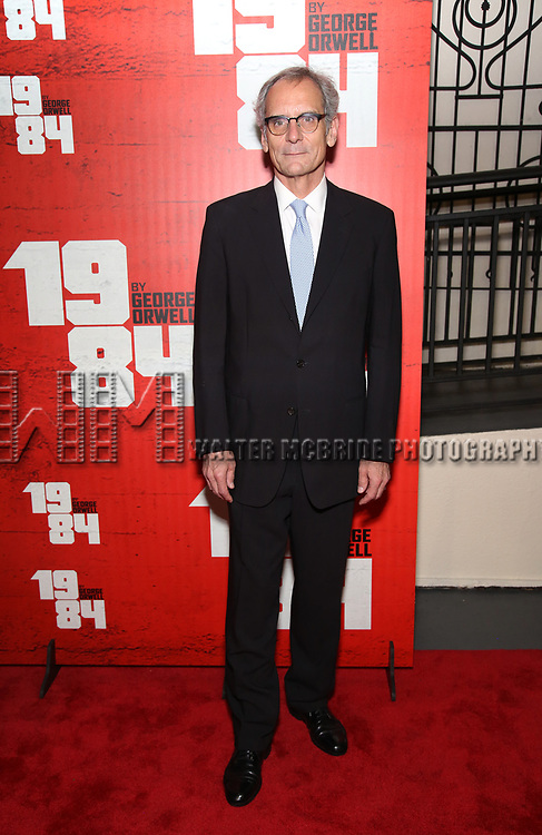 Anthony Newfield attends the Broadway Opening Night Party for George Orwell's '1984' at The Lighthouse Pier 61 on June 22, 2017 in New York City.