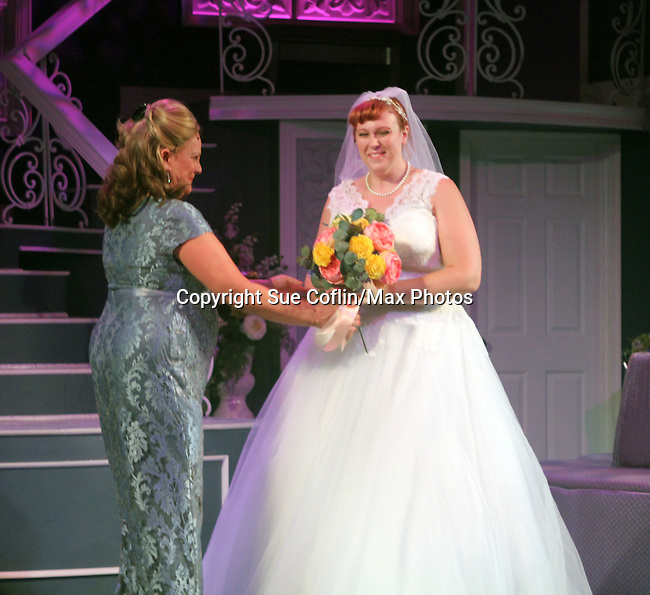 "Guiding Light's Kim Zimmer stars with Molly Tower in ""It Shoulda Been You"" - a new musical comedy - at the Gretna Theatre, Mt. Gretna, PA on July 30, 2016. (Photo by Sue Coflin/Max Photos)"
