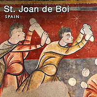 Photos of St Joan de Boi Romanesque Frescoes. Spain