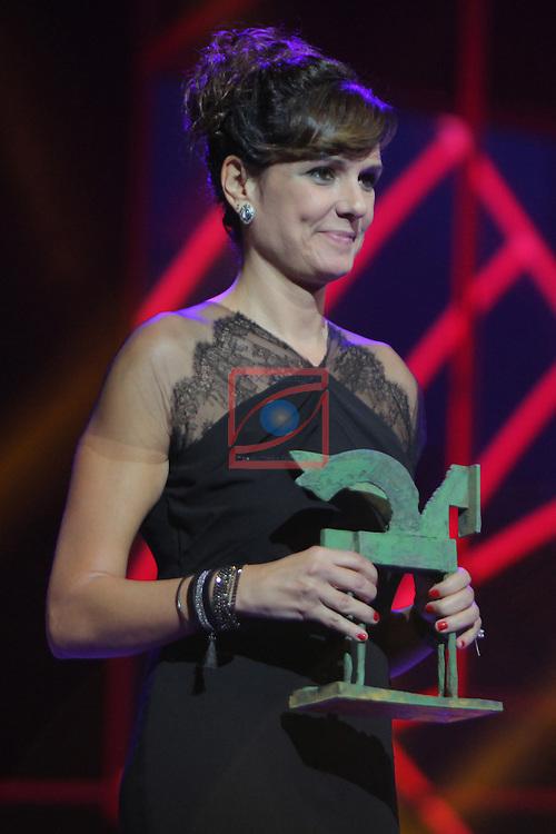 63 Premios Ondas.<br /> Gala de Entrega de los premios.<br /> Monica Lopez.