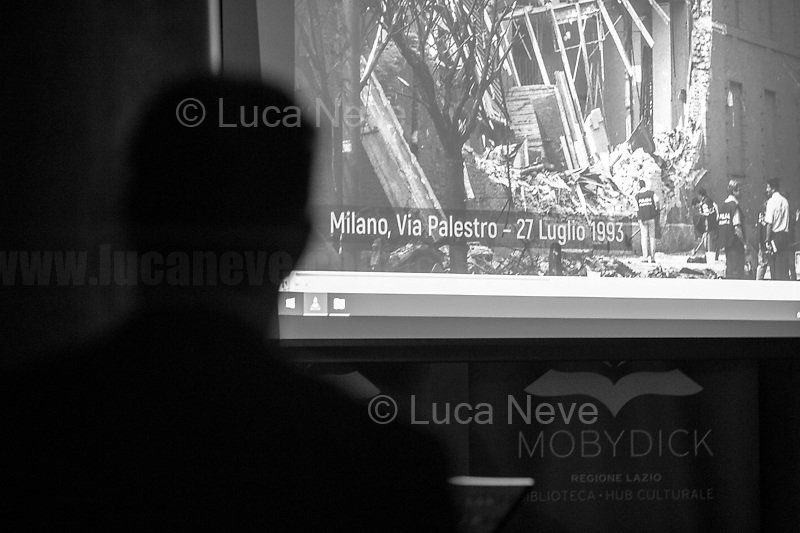 """Milan, Via Palestro bombing (https://youtu.be/GEnI93fojh8).<br /> <br /> Rome, 08/02/19. Moby Dick Library & Antimafia Duemila (2.) held the presentation of the book """"Il Patto Sporco"""" (The Dirty Pact. The Trial State-mafia in the Story [narrated] by his Protagonist, Chiarelettere,1.) hosted by the author of the book Saverio Lodato (Journalist & Author), Antonino 'Nino' Di Matteo (Protagonist of the book, Antimafia Magistrate of Palermo, member of the DNA - Antimafia & Antiterrorism National Directorate - who """"prosecuted the Italian State for conspiring with the Mafia in acts of murder & terror"""",3.4.5.6.) & Giorgio Bongiovanni (Editor of Antimafia Duemila). Chair of the event was Silvia Resta (Journalist & Author). Readers were: Bianca Nappi & Carlotta Natoli (both Actresses). From the back cover of the book: """"Let us ask ourselves why politics, institutions, culture, have needed the words of judges to finally begin to understand…A handful of magistrates and investigators have shown not to be afraid to prosecute the [Italian] State. Now others must do their part too"""" (Nino Di Matteo). """"In the pages of this book I wanted the magistrate, the man, the protagonist and the witness to speak about a trial destined to leave its mark"""" (Saverio Lodato). From the book online page: """"The attacks to Lima [politician], Falcone & Borsellino [Judges], the bombs in Milan, Florence, Rome, the murders of valiant police commissioners & officers of the carabinieri. The [Ita] State on its knees, its best men sacrificed. However, while the blood of the massacres was still running there were those who, precisely in the name of the State, dialogued and interacted with the enemy. The sentence of condemnation of Palermo [""""mafia-State negotiation"""" trial which is told in the book], against the opinion of many 'deniers', proved that the negotiation not only was there but did not avoid more blood. On the contrary, it provoked it""""(1.).<br /> Footnotes/links at 2nd & last page."""